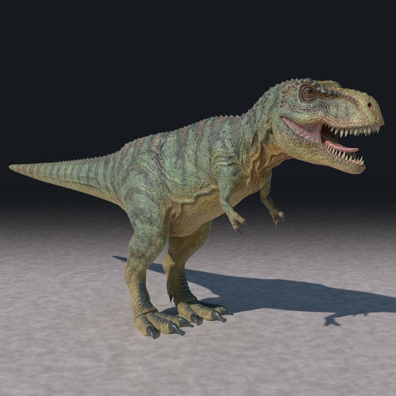 3d t-rex rex