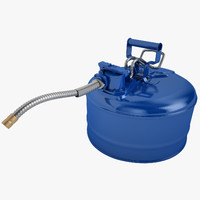 safety 1 gallon 3d model