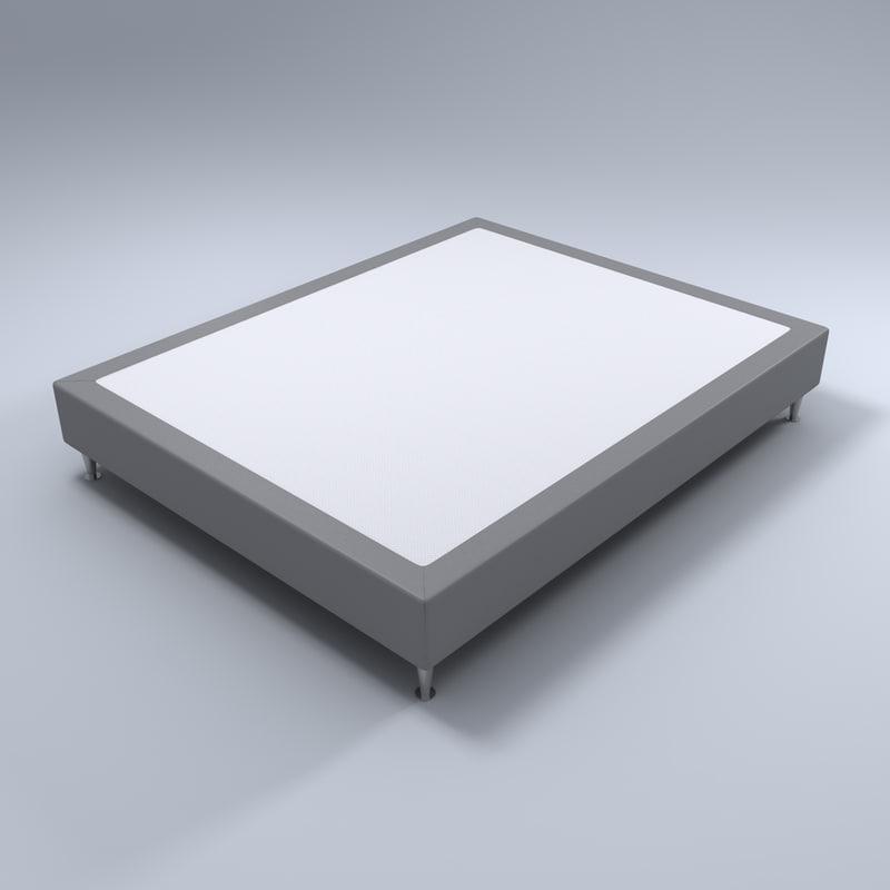 sommier bedroom base 3d model