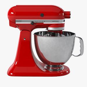 3d artisan stand mixer
