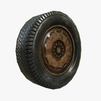 Rusty Car Tire
