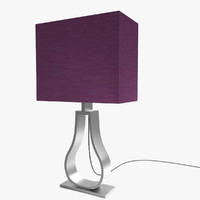 IKEA KLABB Table Lamp Lilac