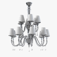 Barovier Toso 5549 Maryland Chandelier