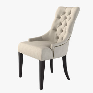 3d model gramercy martini chair