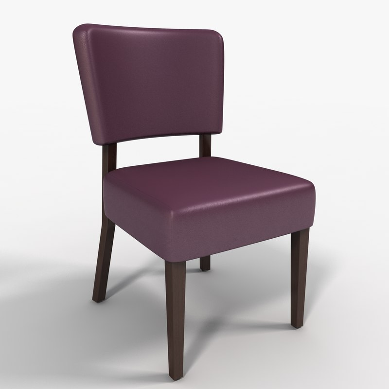 dining chair 3d 3ds