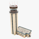control tower 3D models