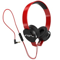 headphones sol republic red 3d model