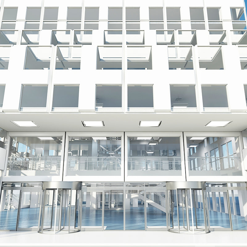 3d model office building 4
