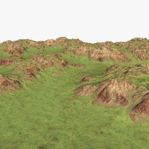 landscape 3d fbx