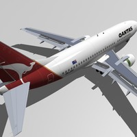 Boeing 737-300 Qantas
