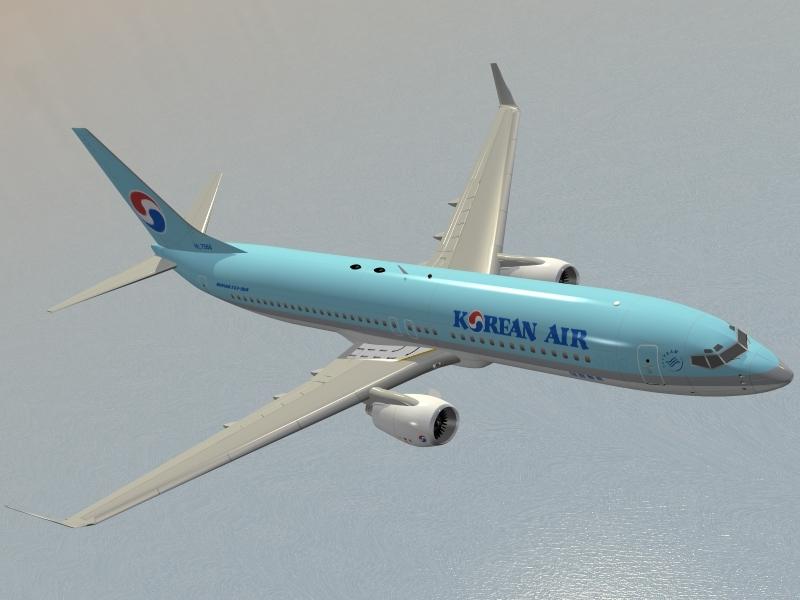 max b 737-800 korean air