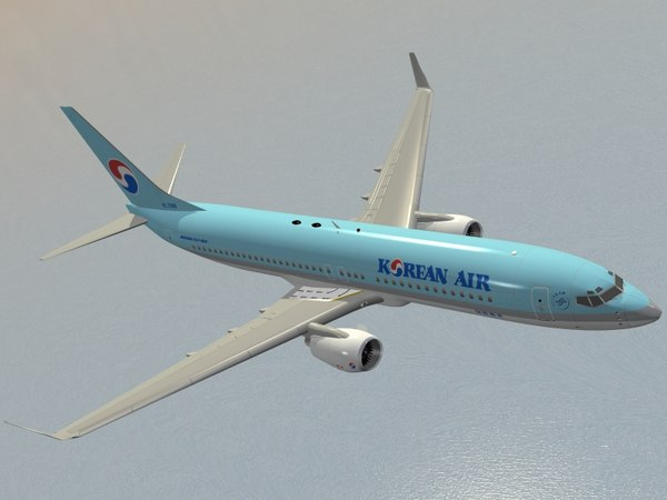 max b 737-800 korean air