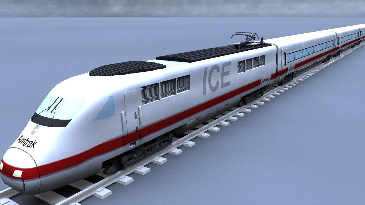 3ds max ice train