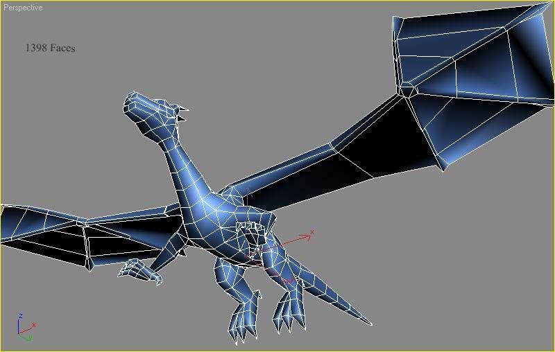 dragon mesh 3ds