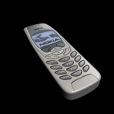 nokia phone 3d dxf