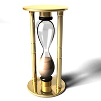 hourglass metal