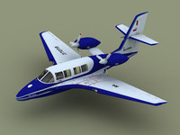 3d amphibian be-103 model