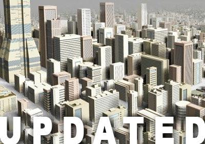 21 buildings 3ds