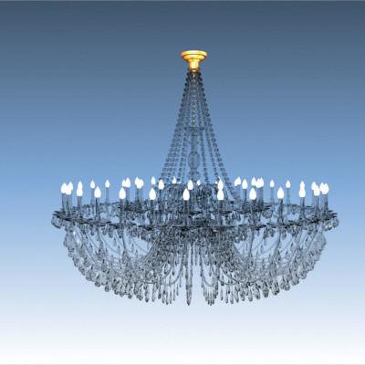 old chandelier obj