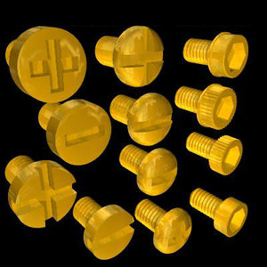3d model grub screws