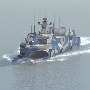 3d chinese navy houbei missile