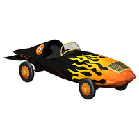 marx rocket racer toy car 3ds
