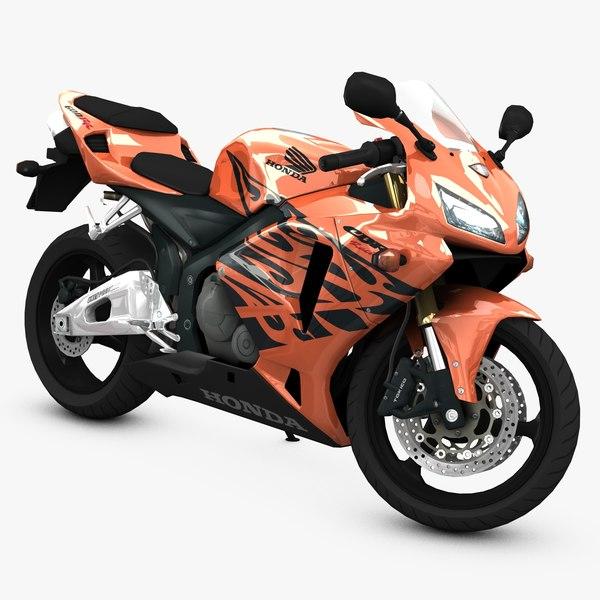 sport super bike 3d model