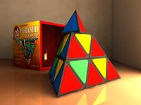 puzzle pyramid 3d model