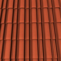roofing tile 3d 3ds