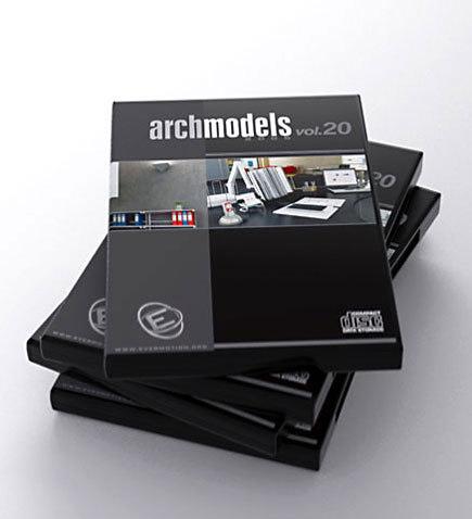 archmodels 20 office 3d model