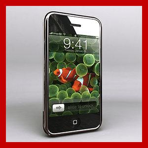 3d new apple iphone model