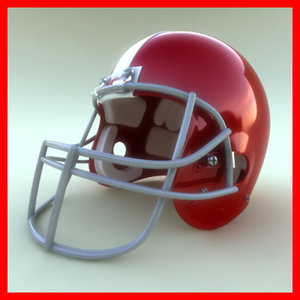 helmet logo 3d model