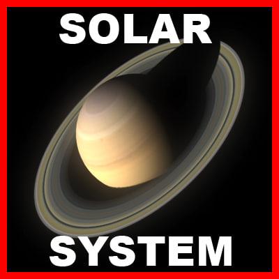 obj planets solar pack