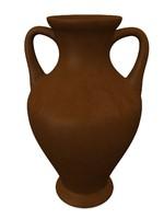 vase pot pottery 3d 3ds