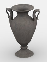 vase pot pottery 3ds