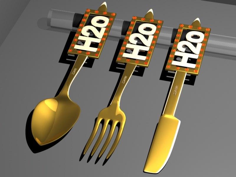 3d cutlery h2o