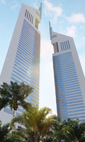 emirates tower 3d max