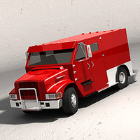 3ds max armored truck