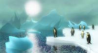 ice berg scene obj