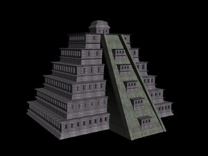 veracruz tajin 3d model