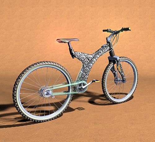 3d obj bike