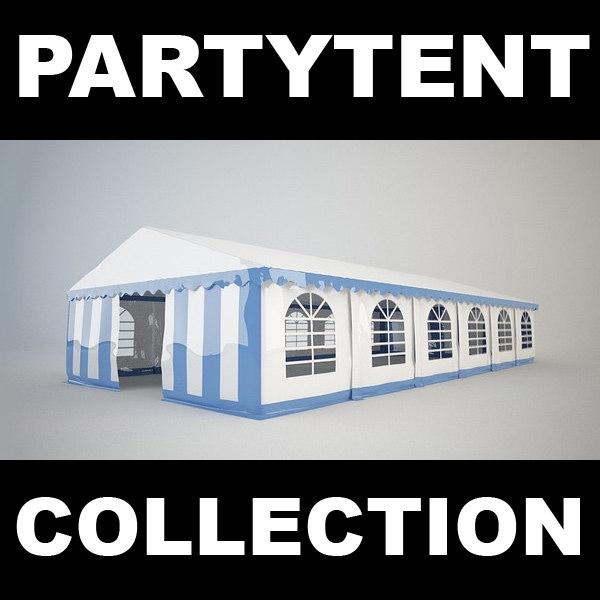 3d tent partytent party model