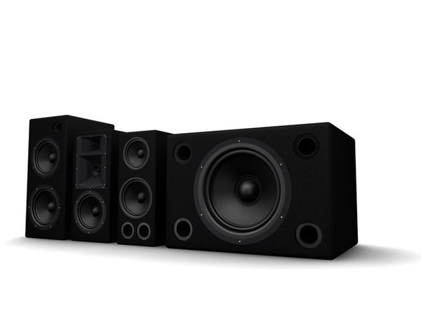 speakers musical 3ds