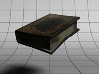 tome old book 3d max