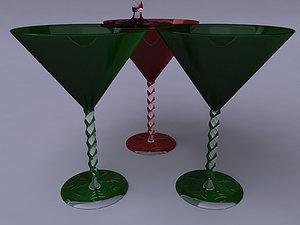 max christmas cocktail glasses