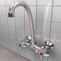 3d faucet tap model