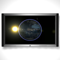 plasma screen tv 3d model