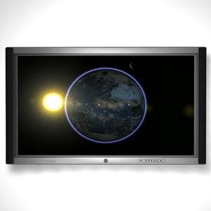 plasma screen tv 3d model