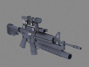 max m4 rifle