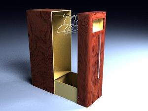 closet bedroom 3d model